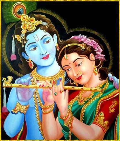 Animated Radha Krishna Ki Photos