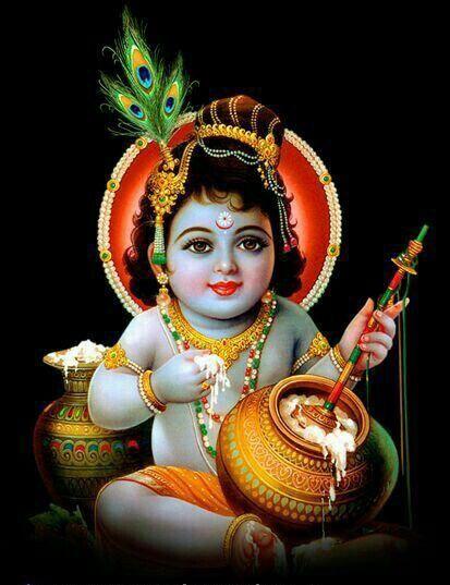 Baby Krishna Cute Images