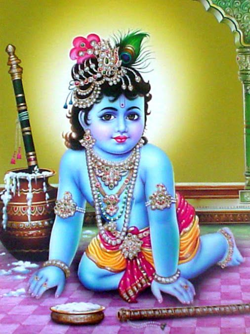 Bhagwan Krishna Baby Child Images