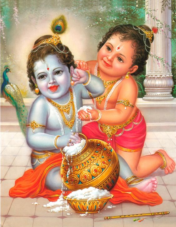 Child Krishna Bhagwan Images