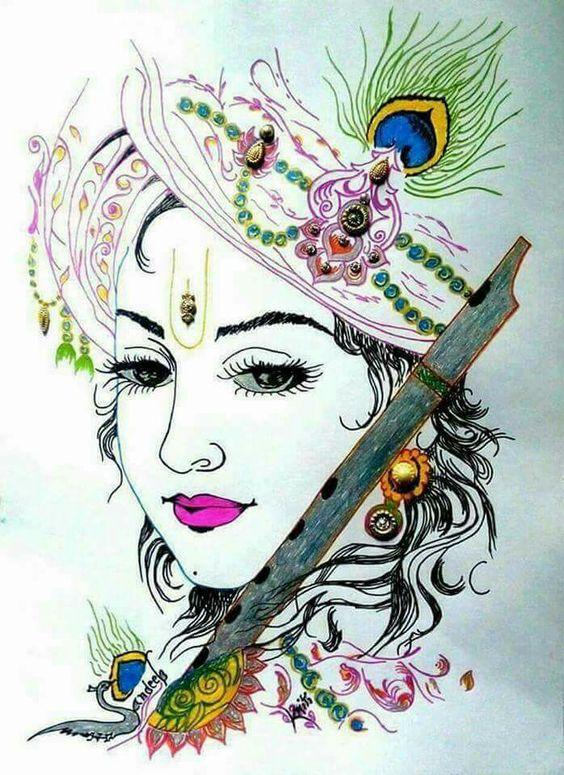 Lord Krishna Bhagwan Image