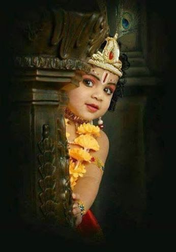 Pictures of Cute Krishna Baby Image