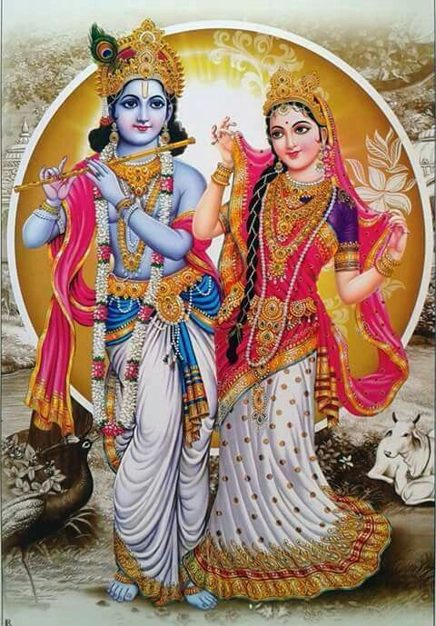 Pictures of Radha Krishna Lord