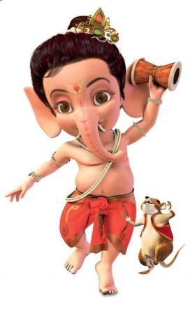 Bal Ganesha Wallpaper HD Image