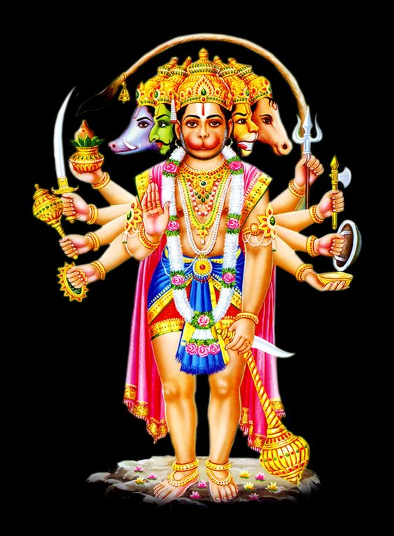 Best Image of Panchmukhi Hanuman