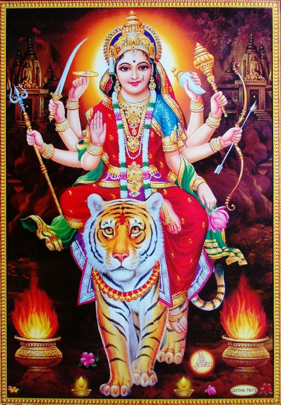 Durga Hindu Goddess Maa Wallpaper