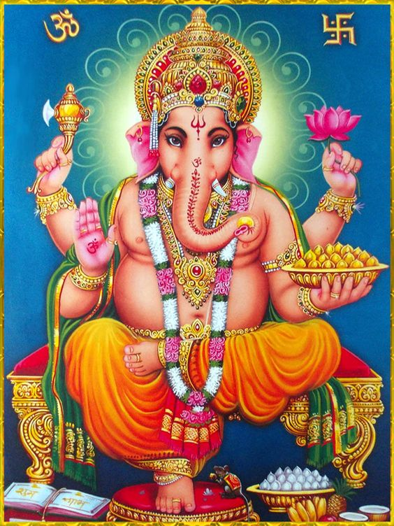 Facebook Wallpaper of Lord Ganesha Ganpati Bappa