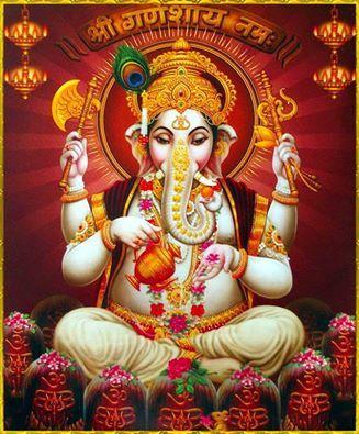 Ganesha Beautiful Wallpaper for Facebook