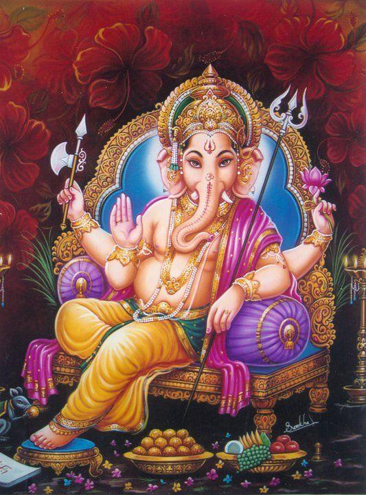 Ganesha Ji Beautiful Wallpaper
