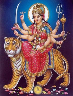 Goddess of Hindu Durga Maa Wallpaper
