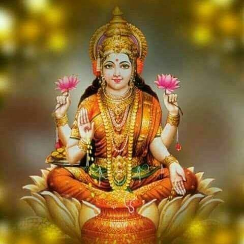 Goddess of Wealth Maa Laxmi Ji Pic