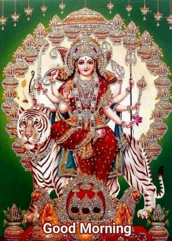 Good Morning Maa Durga Wallpaper HD