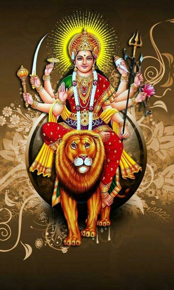 Hindu Devi Maa Durga Photo Images