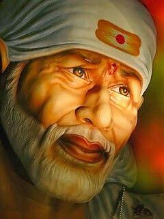 Hindu God Sai Baba Mobile Wallpaper
