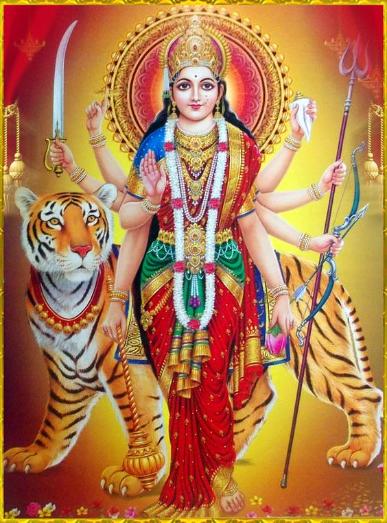 Hindu Maa Goddess Durga Wallpaper