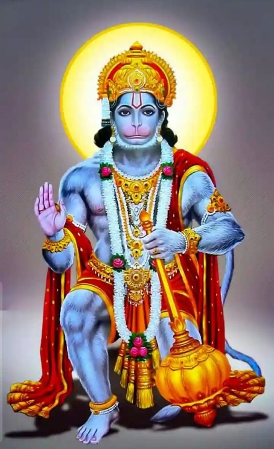Hindu Mahabalshali God Hanuman Images