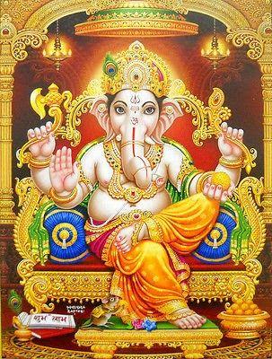 Jai Ganpati Ganesha Deva Wallpapers