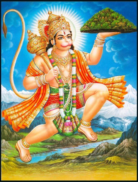 Jai Veer Hanuman Wallpaper Pic for Mobile