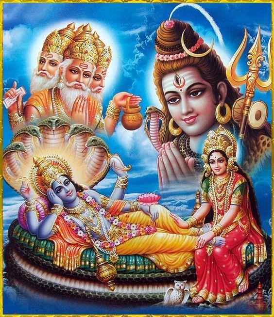 Laxmi Narayan Shree Vishnu Bhagwan Images
