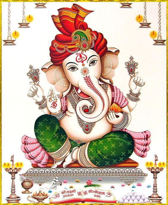 Lord Ganpati Ganesha HD Images