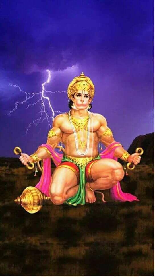 Mobile Wallpaper of God Hanuman