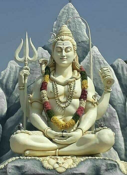 Photos of Lord Shiva on Mountain