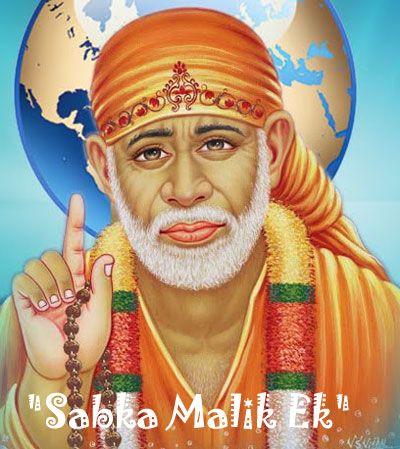 Sabka Malik Ek Sai Baba HD Wallpaper