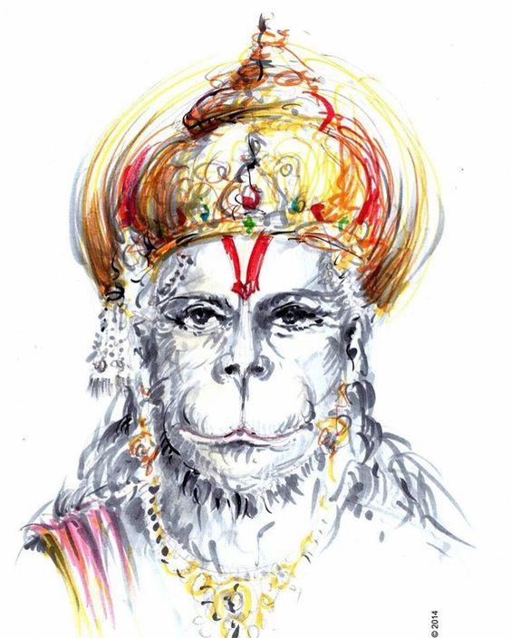 Sankat Mochan Hanuman HD Mobile Wallpaper