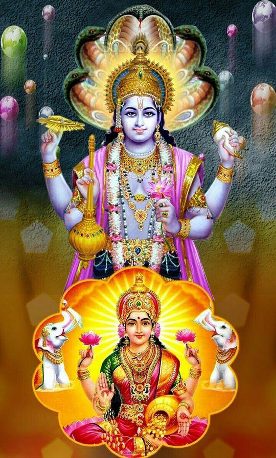 Shri Vishnu Laxmi Image WallpaperShri Vishnu Laxmi Image Wallpaper
