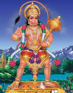 Statue of Bhagwan Hanuman Wallpaper