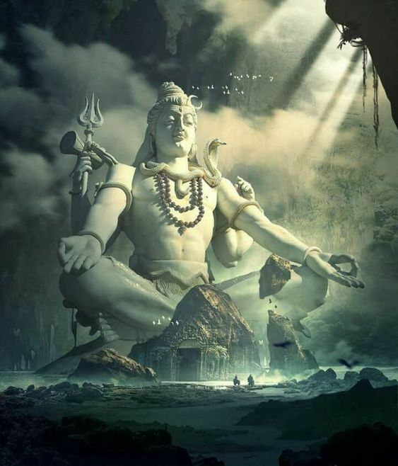 Very Huge Image of Lord Shiv Bhagwan