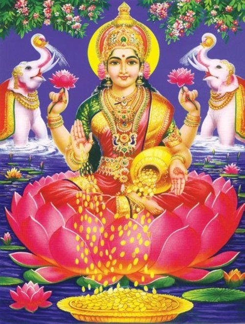 Wallpaper of God Laxmi Ji Images