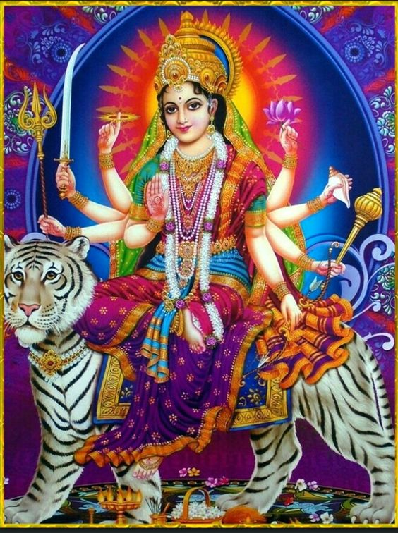 Wallpaper of Maa Bhawani Durga