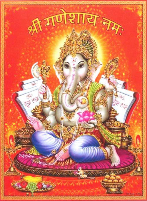 Whatsapp Wallpaper of Lord Ganesha