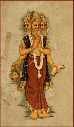 Brahma Devta Image
