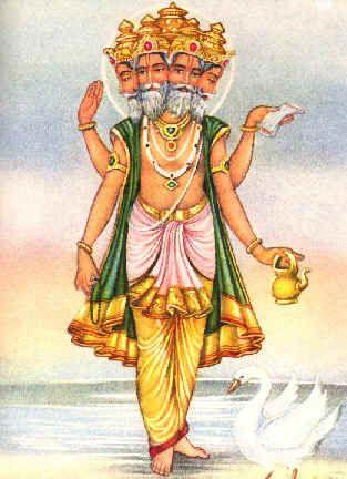 Brahma Ji God Image