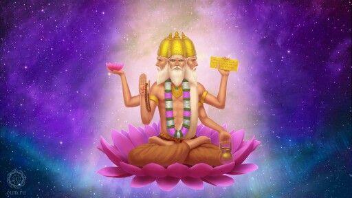 Supreme God Brahma Image